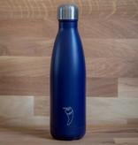 Chilly's Bottles Chilly's Bottle Blue Matte 500ml - Chilly's Bottles