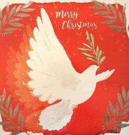 Kerstkaarten 10 stuks voor amnesty international - merry christmas - vredesduif