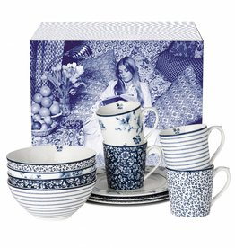 Laura Ashley Serviesset 12-delig in geschenkverpakking - Laura Ashley