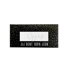 "100% Leuk Complimenten Zeep ""Oppas"" - 100% Leuk"