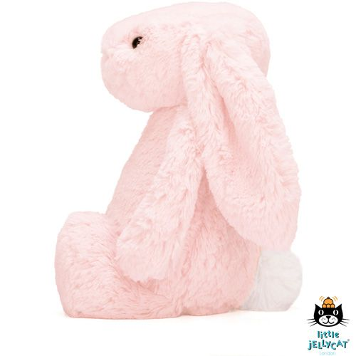 Jellycat Knuffel Konijn Bashful Bunny M roze - Jellycat