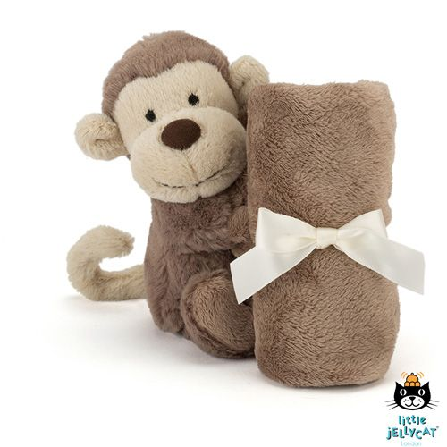 Jellycat Knuffel Doek Bashful Monkey Soother - Jellycat