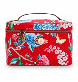 Pip Studio Beauty Case Floral Good Morning rood - Pip Studio