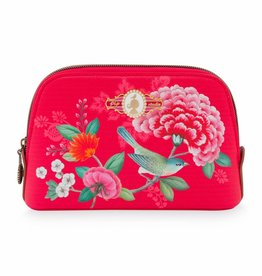Pip Studio Toilettas klein Floral Good Morning rood - Pip Studio