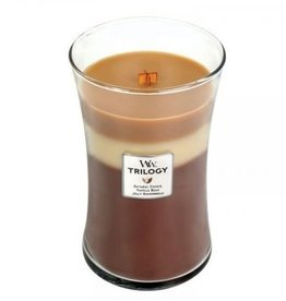 """WoodWick Kaars WoodWick """"Spiced Confections Trilogy"""" Large - WoodWick"""