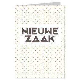 Wenskaart Nieuwe Zaak - Casa Collection
