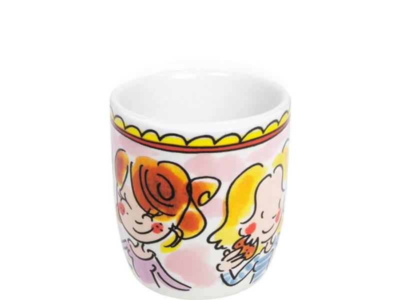 "Blond Amsterdam Espressokopje I Love Coffee ""Even Bijkletsen"" - Blond Amsterdam"