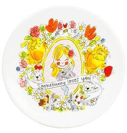 "Blond Amsterdam Ontbijtbord 22cm Somebunny ""Pasen 2019"" - Blond Amsterdam"