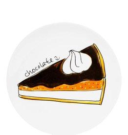"Blond Amsterdam Gebaksbord 18cm Chocolate Cake ""Moederdag 2019"" - Blond Amsterdam"