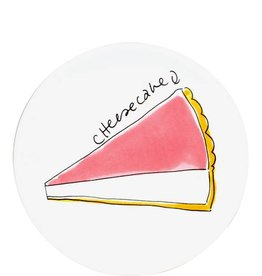 "Blond Amsterdam Gebaksbord 18cm Cheesecake ""Moederdag 2019"" - Blond Amsterdam"