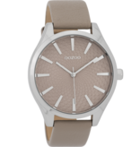 OOZOO Horloge taupe 42mm C9687 - OOZOO