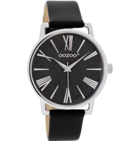 OOZOO Horloge zwart 38mm JR304 - OOZOO