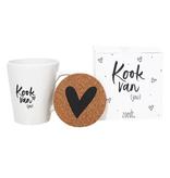 """Zoedt Cadeaupakket met mok """"Kook van Jou""""  - Zoedt"""