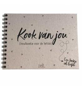 Zoedt KookVanJou invulboek - Zoedt