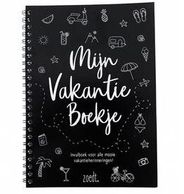 Zoedt Vakantie Invulboek - Zoedt