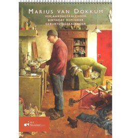 "Marius van Dokkum ""A man's World"" Verjaardagskalender"