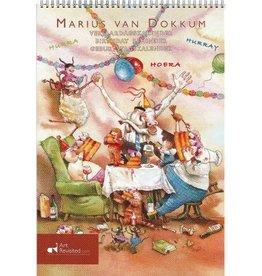 """Marius van Dokkum """"Opa Jan"""" Verjaardagskalender"""