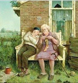 Liefde vergaat niet - Wenskaart Marius van Dokkum