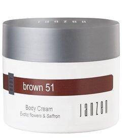 JANZEN Body Cream Brown 51 - JANZEN