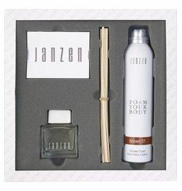 JANZEN Home & Body Giftset Brown 51 - JANZEN