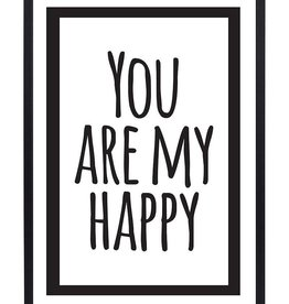 "Zoedt Poster ""You are my Happy"" - Zoedt"