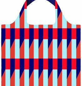 Loqi Shopper Opvouwbaar Geometric Stripes - Loqi