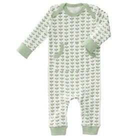 Fresk Pyjama zonder voet Leaves mint 6-12mnd - Fresk