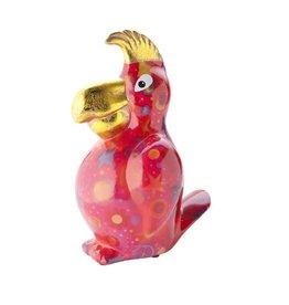 Pomme-Pidou Spaarpot Papegaai Coco Rood - Pomme-Pidou