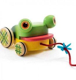 Djeco Rijdende Kikker met Geluid +1jr - Djeco