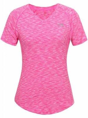 Li-Ning Roze Hardloopshirt V-hals