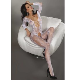 Livia Corsetti Fashion Zita Catsuit - Wit