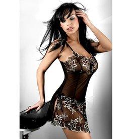Livia Corsetti Fashion Zwart nachtjurkje Hera