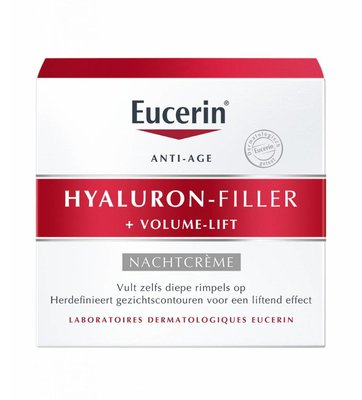 Eucerin Hyaluron-Filler + Volume-Lift nachtcreme (50ml)