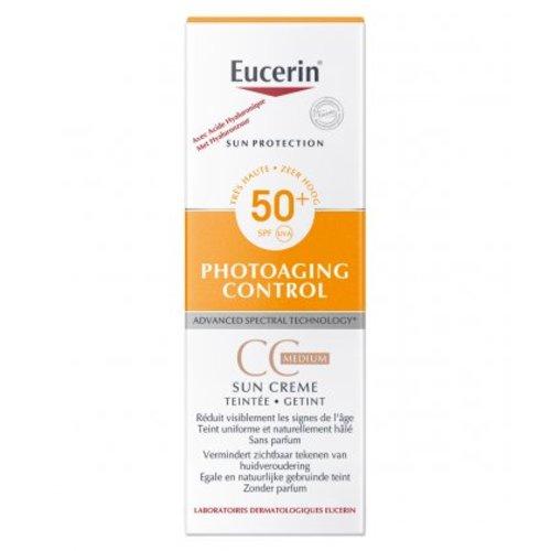 Eucerin Eucerin Sun Photoaging Control CC Cream Medium SPF 50+ (50ml)