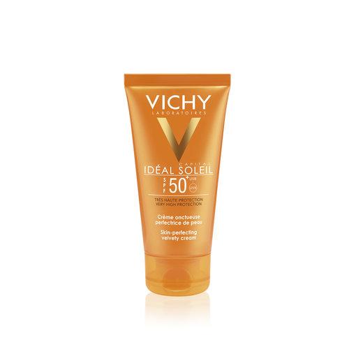 Vichy Vichy Ideal Soleil Fluweelachtige Crème SPF50+ (50ml)