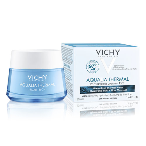 Vichy Vichy Aqualia Thermal Rijke crème - pot (50ml)