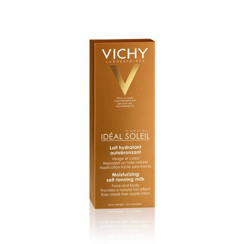 Vichy Vichy Ideal Soleil Zelfbruinende Melk Gezicht en Lichaam (100ml)