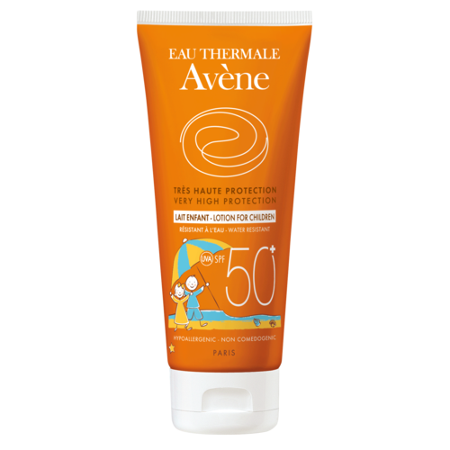 Avène Zonbescherming SPF50+ Melk voor kinderen (100ml)
