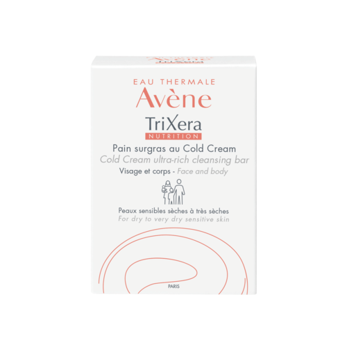Avène TriXera Nutrition Wastablet met Cold Cream (100g)