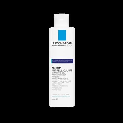 La Roche-Posay La Roche-Posay Kerium Gel Shampoo tegen Vette Schilfers (200ml)