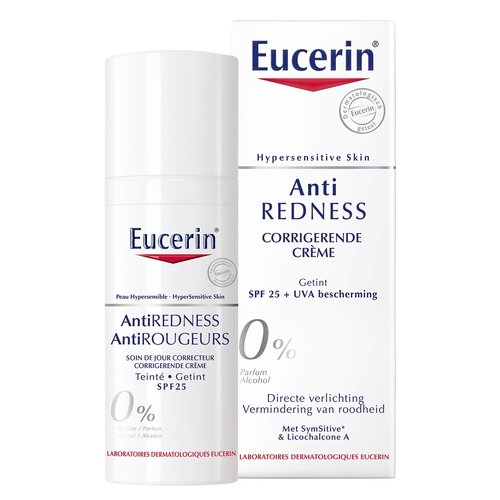 Eucerin Anti-Redness Corrigerende Crème Getint (50ml)