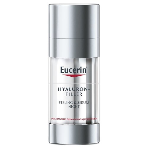 Eucerin Hyaluron-Filler Peeling & Serum Nacht (2x15ml)