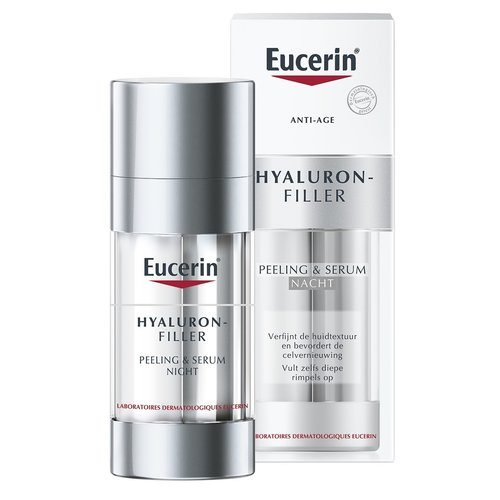 Eucerin Eucerin Hyaluron-Filler Peeling & Serum Nacht (2x15ml)