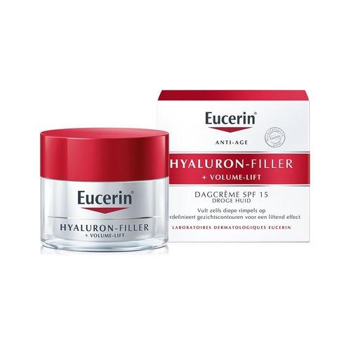 Eucerin Hyaluron-Filler + Volume-Lift dagcreme SPF15 (50ml)