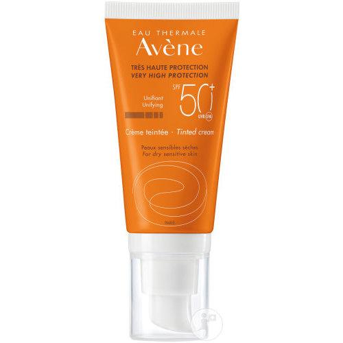 Avène Zonbescherming SPF50+ Getinte Crème (50ml)