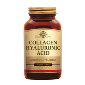 Solgar Collagen Hyaluronic Acid Tablet