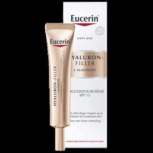 Eucerin Eucerin Hyaluron-Filler + Elasticity Oogcrème SPF15  (15ml)