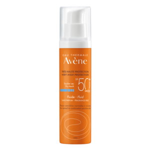 Avène Avène Zonbescherming SPF50+ Fluide zonder parfum (50ml)