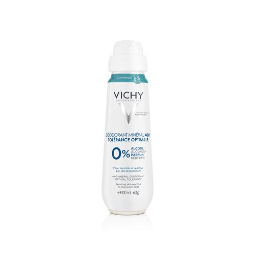 Vichy Vichy Deodorant Compressed Mineraal Spray 48 Uur
