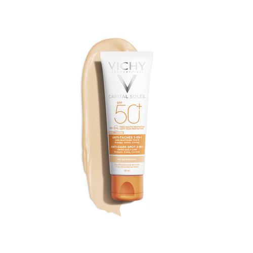 Vichy Vichy Capital Soleil Anti-Spot Getinte Crème 3 in1 SPF50+ (50ml)